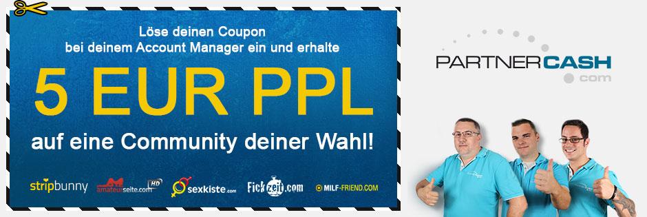 Hol dir deinen 5 Euro PPL Deal