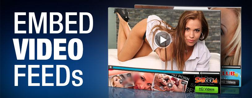 Embed Videos Feeds jetzt verfügbar bei PartnerCash